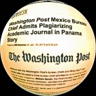 The Washington Post suspendió a jefe de su oficina en México que admitió plagio