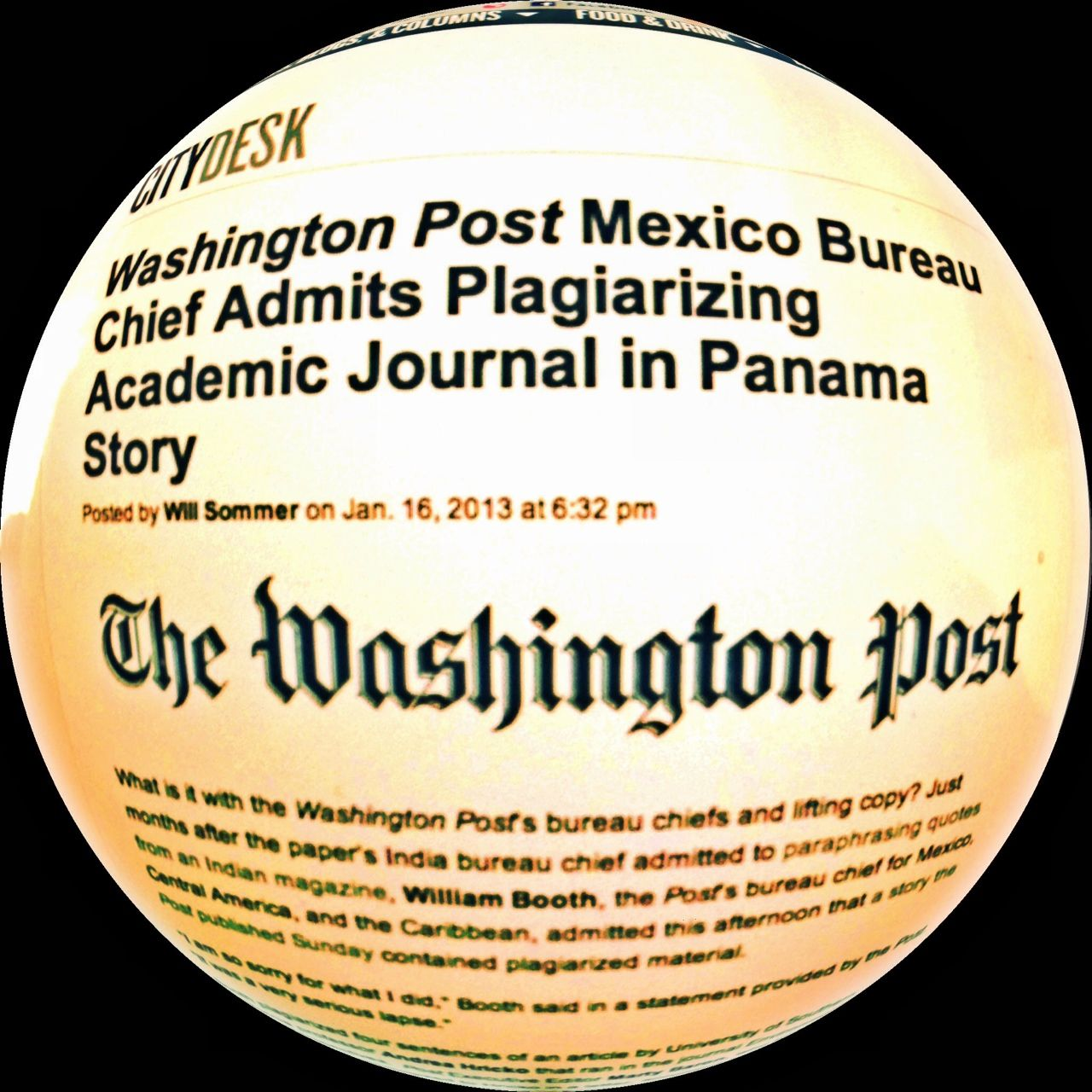 Washington Post-plagio