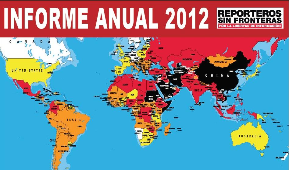 Informe anual RSF