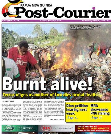 Papua Nueva Guinea-queman viva a mujer