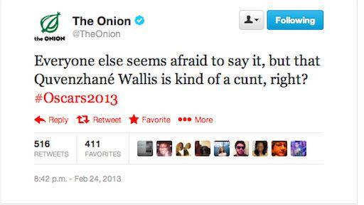 The Onion ofensivo