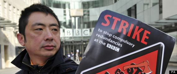 BBC journalist strike
