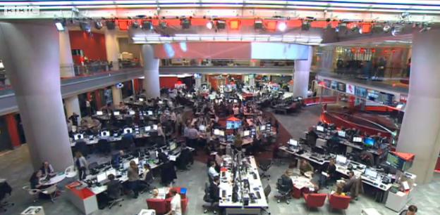 BBC redacción