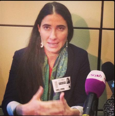 Foto: Yoani Sánchez en Instagram
