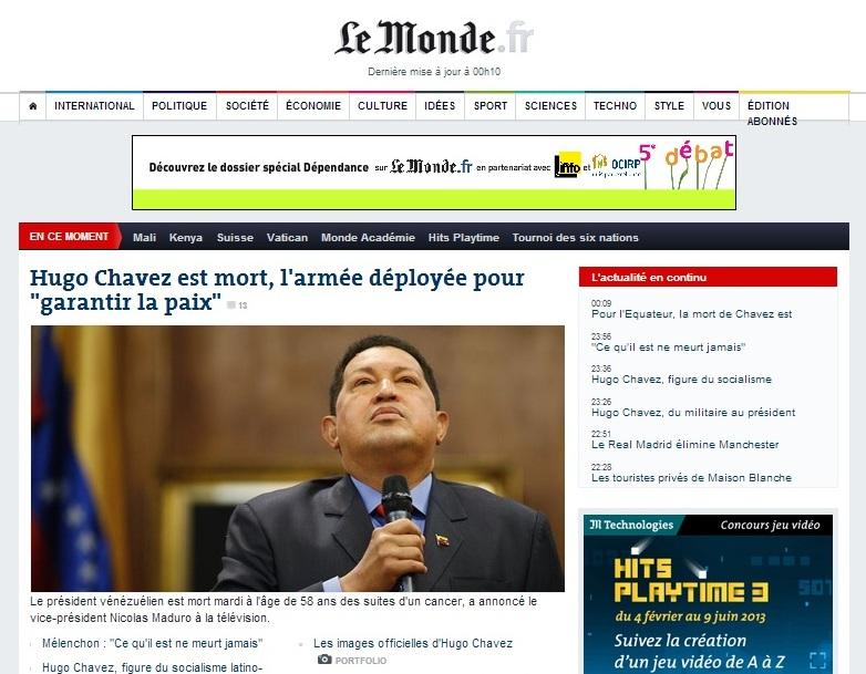 Chavez Le Monde