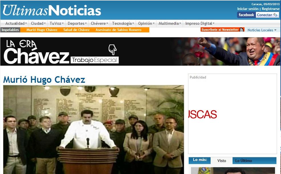 Chavez ultimas noticias