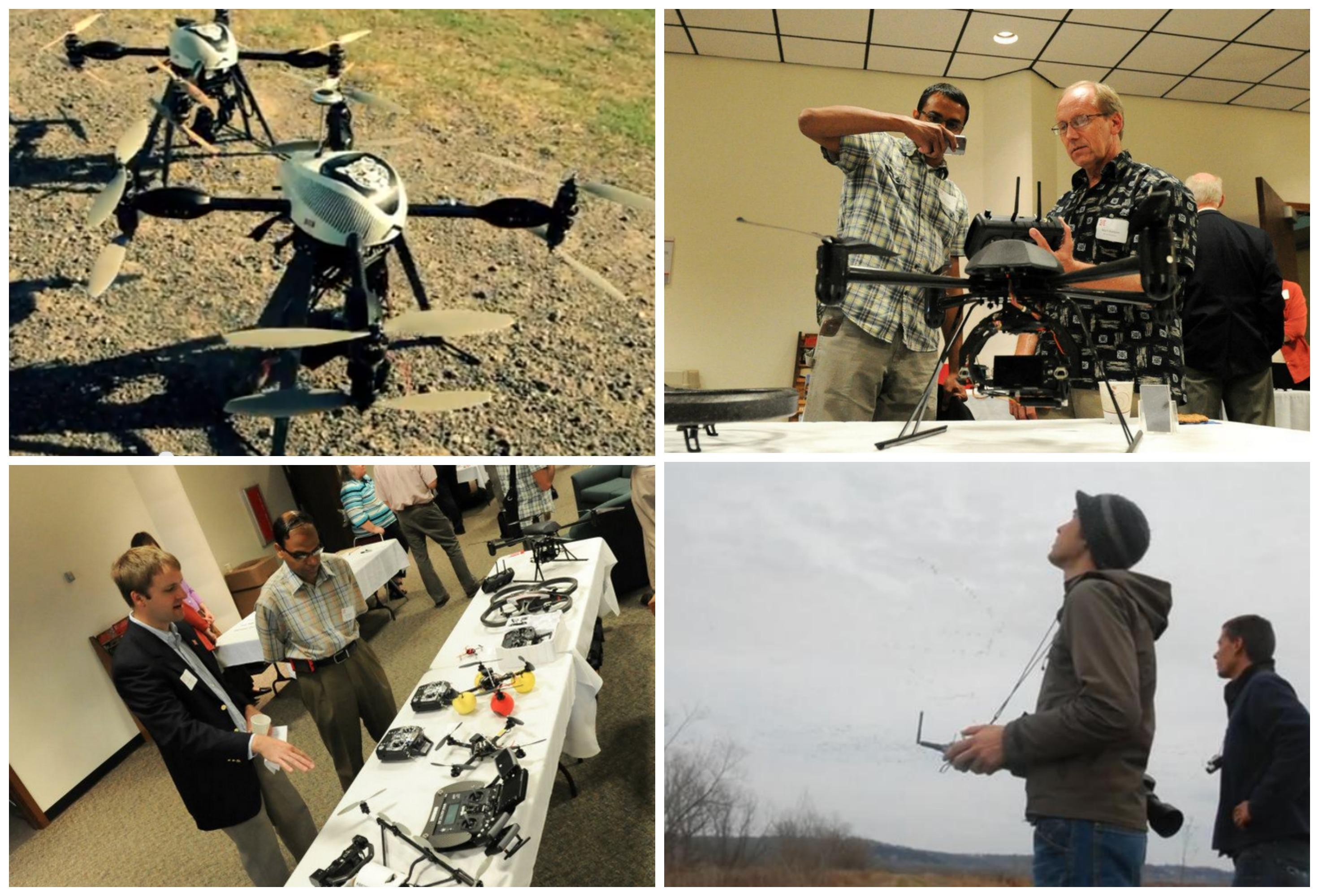 Drones para periodistas