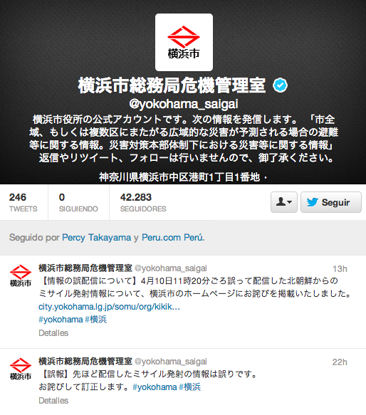 Twitter Japón