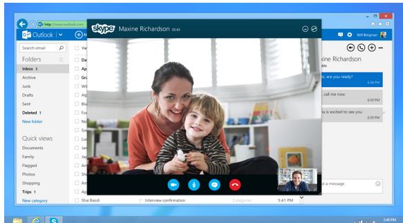Skype correo
