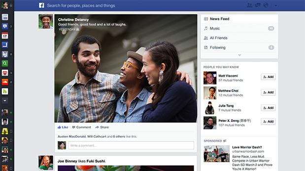 El nuevo News Feed tiene una apariencia similar a la del móvil | Facebook Studio