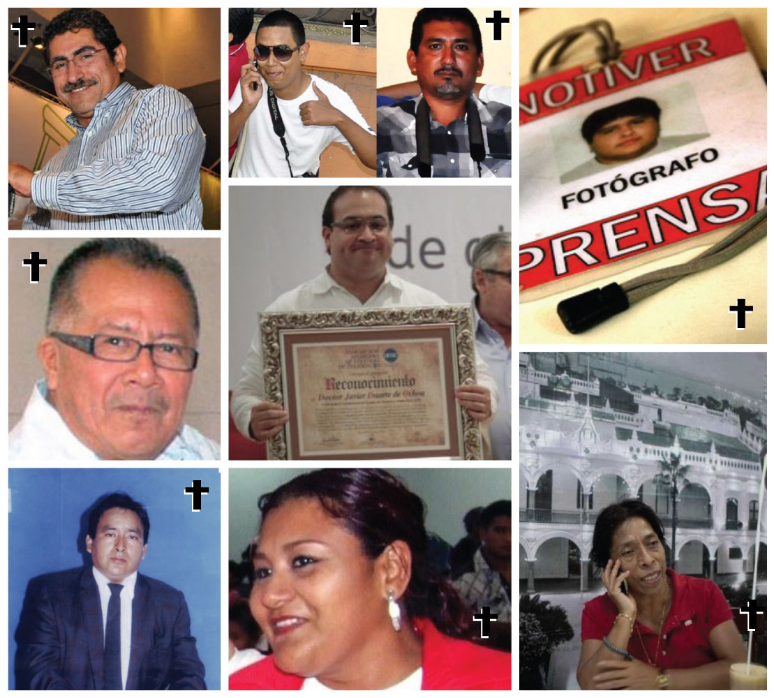 Periodistas Veracruz