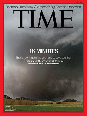 REVISTA TIME tornado