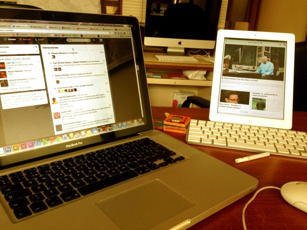 Redes sociales periodista