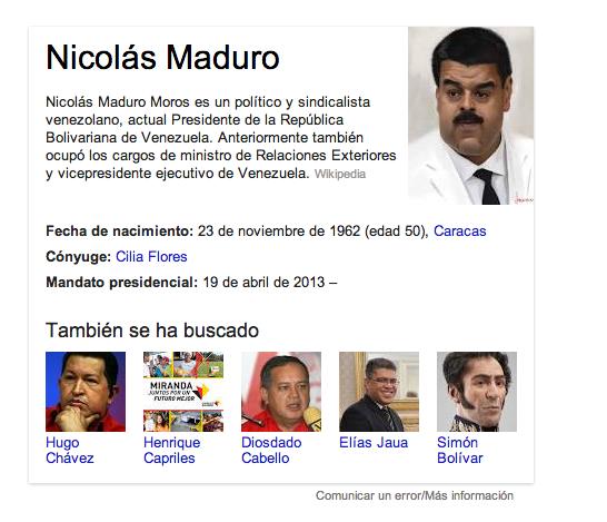 Google MADURO