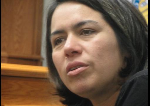 Periodista Rocío Gallegos