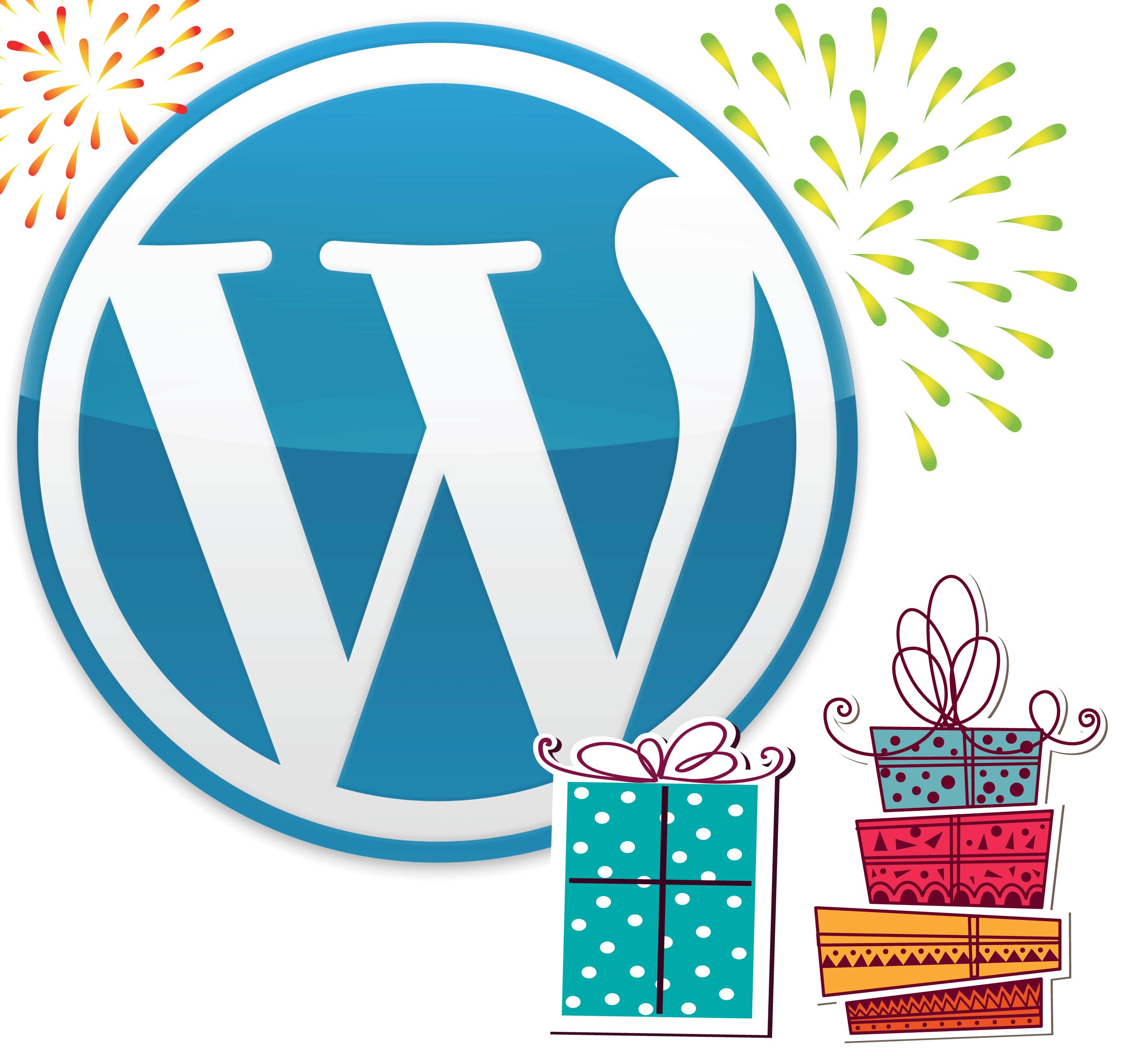 WordPress 10 años