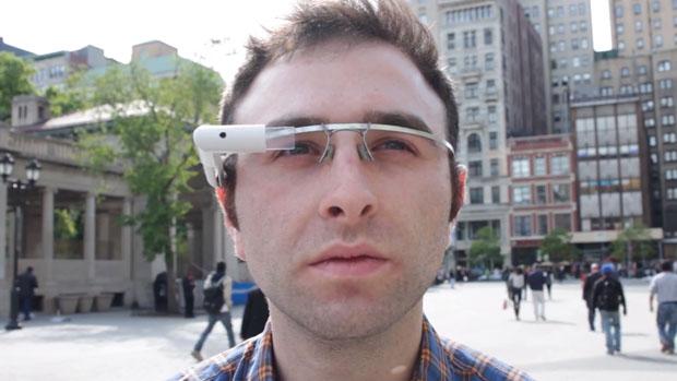 Google Glass parodia