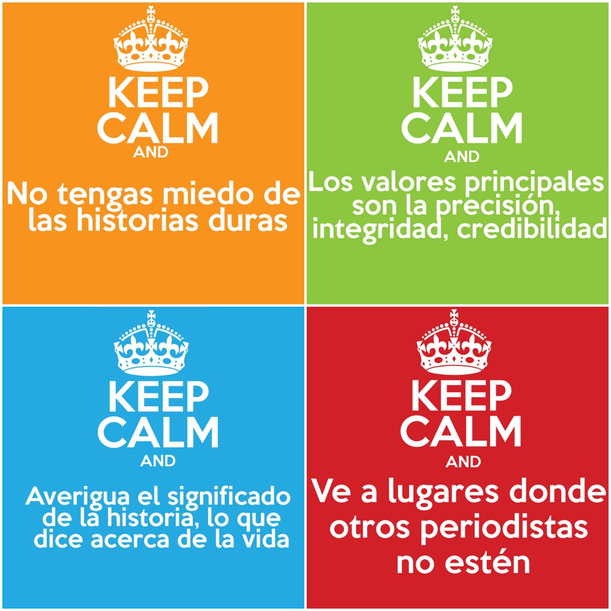 Keep Calm periodismo