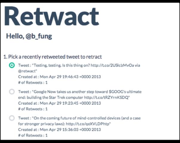 retwact