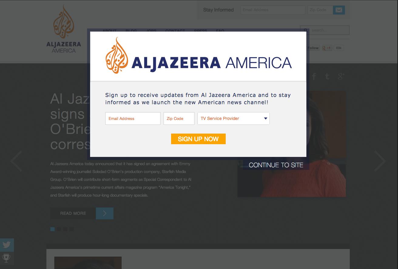 Al jazzera America