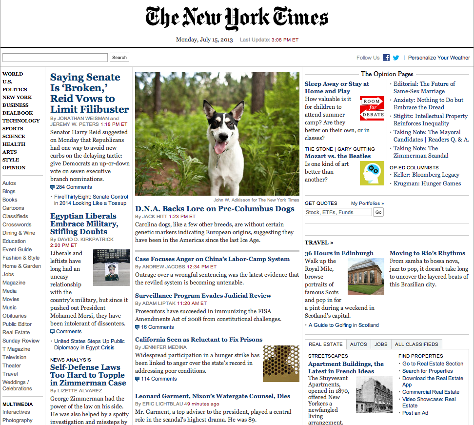 The new yor times