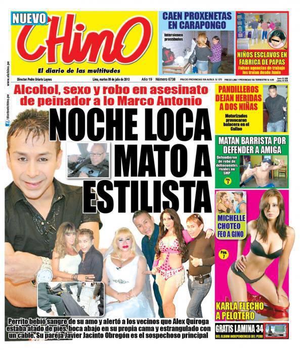 Periodismo homofóbico