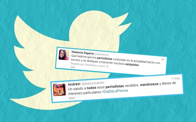 10 razones por las que los tuiteros odian a los periodistas