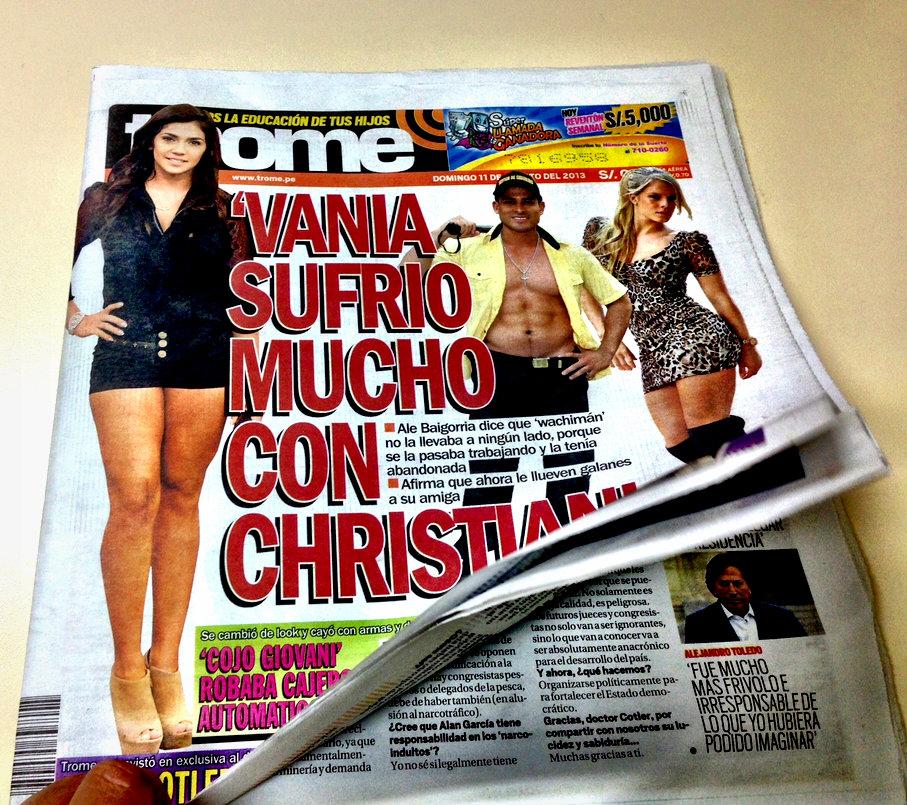 Perú Diario Trome Es El Tabloide Más Vendido Del Mundo Clases De