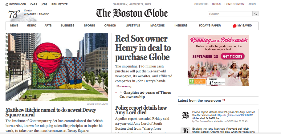 The BostonGlobe