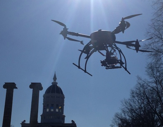 Foto: Matthew Dickinson/MU IT Drone Lab