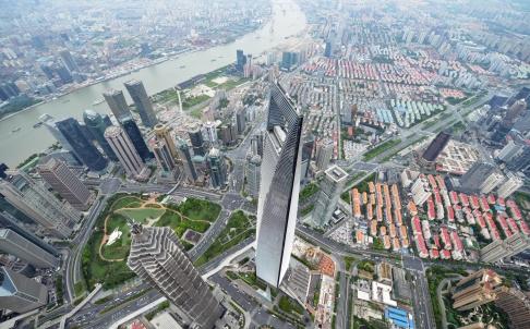 Una vista general de  Shanghai  Foto: AFP