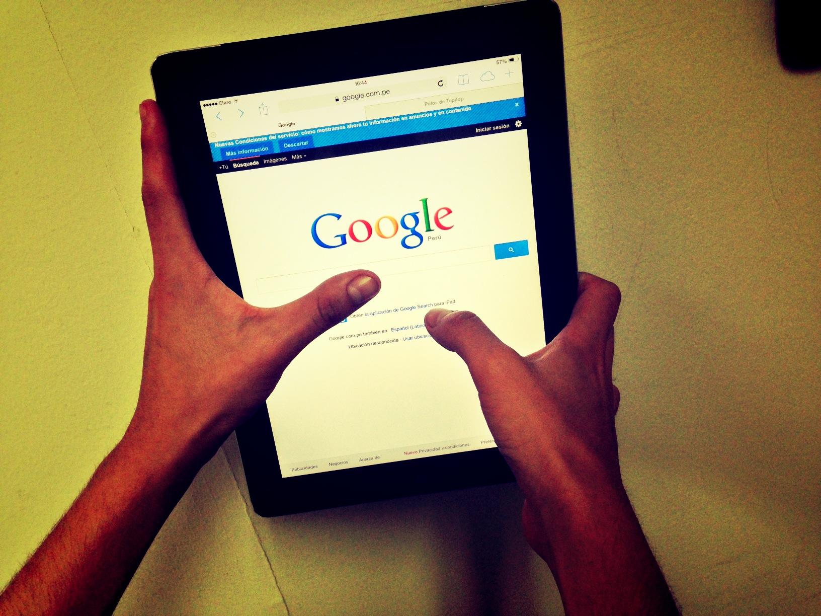google tabletas