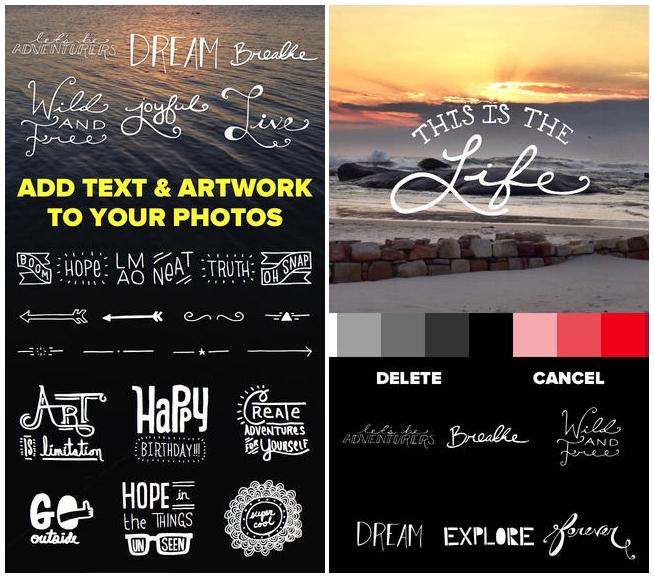 20 Apps Para Insertar Textos En Tus Imágenes Clases De