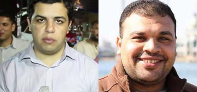 (Abdullah Al-Shami y Mohamed Madr/ Fuente Doha Centre for Media Freedom)