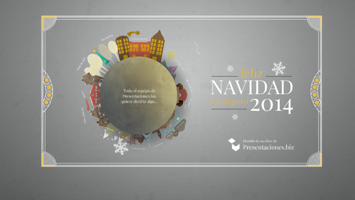 Presentaciones Feliz Navidad.Un Saludo De Navidad En Prezi Clases De Periodismo