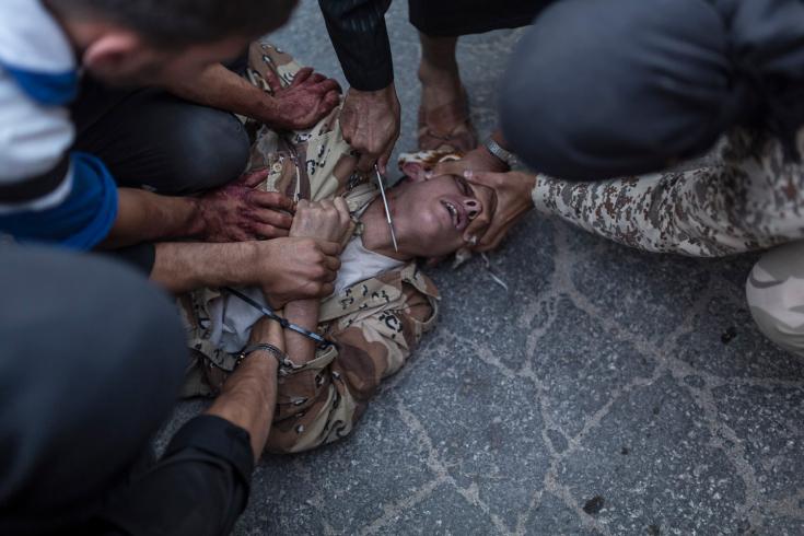 (Foto Emin Özmen. Keferghan, Siria. Agosto. 31, 2013)