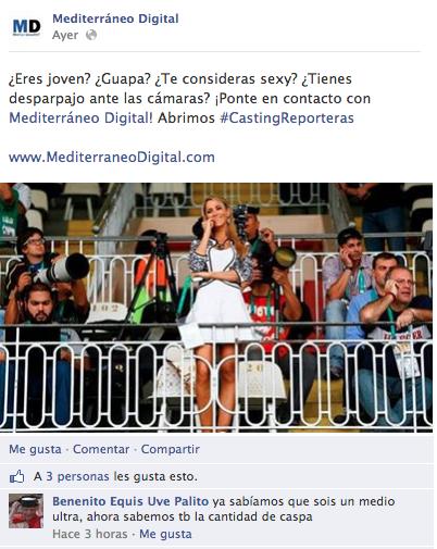 Facebook periodismo