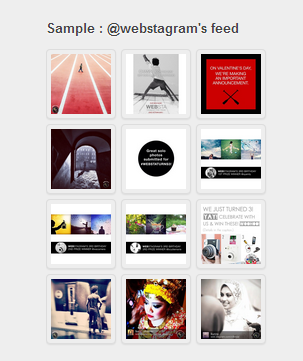 lista webstagram