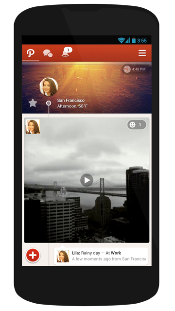 Path actualiza su app para Android y permite grabar videos