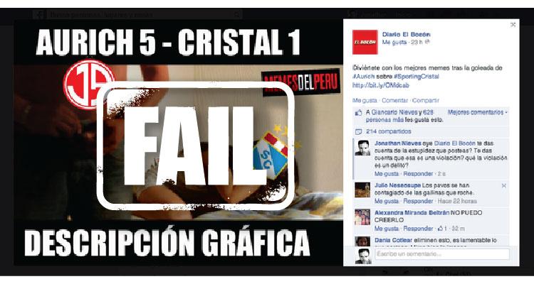 Perú Así Responde El Bocón A Las Críticas Por Meme Que Sugiere