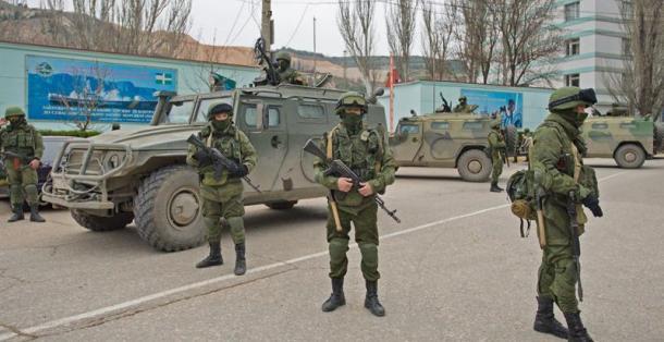 Intervenció de Rusia en Crimea Foto: EFE