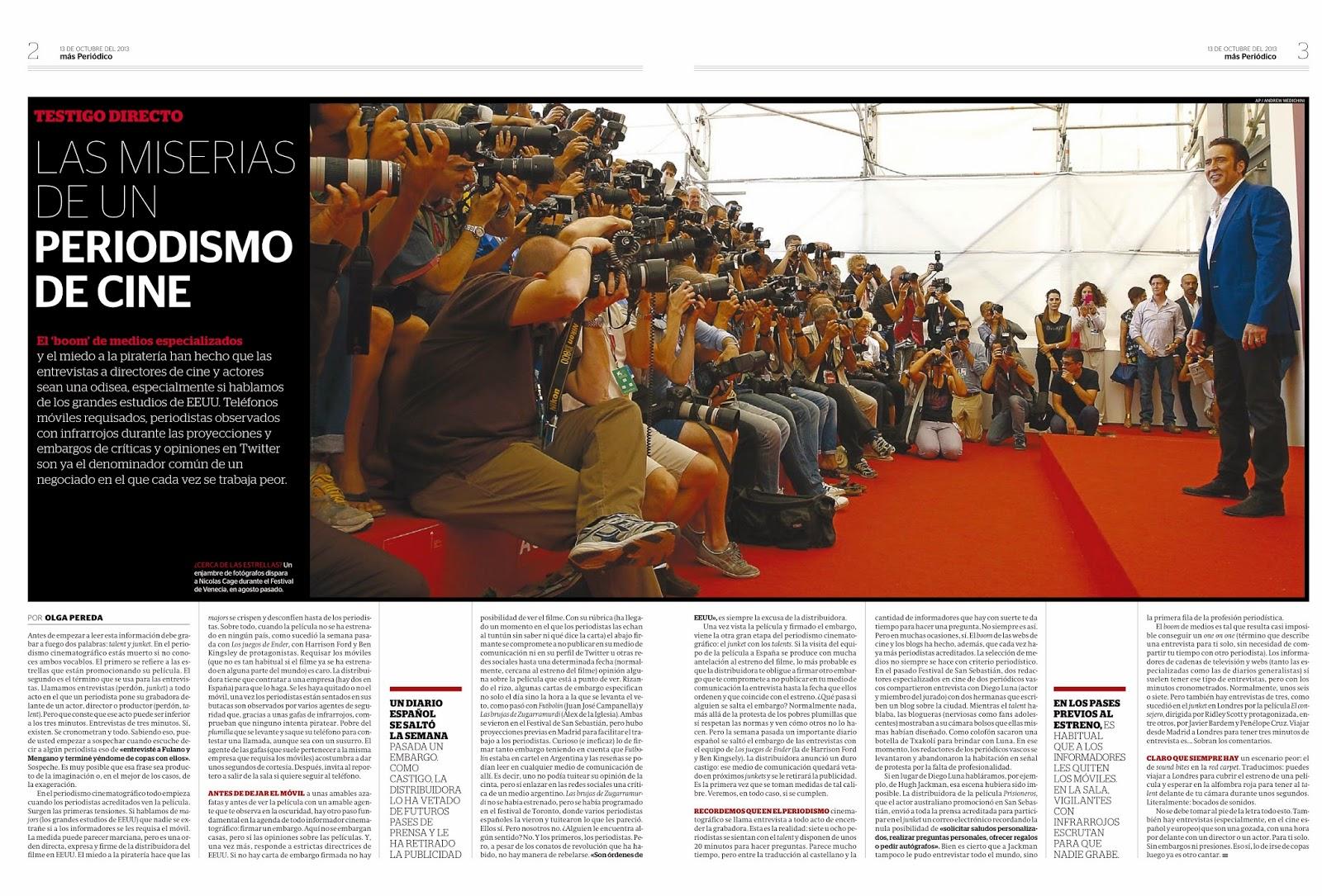 Analisis periodismo cine. Premiojpg