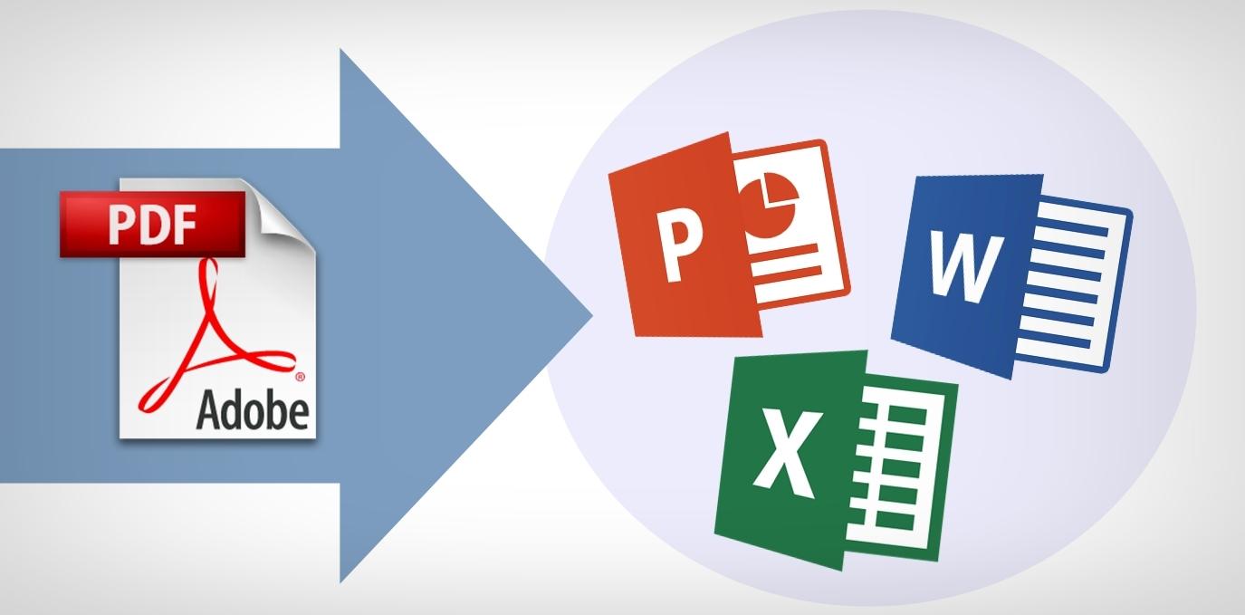 Convierte rápido y en línea PDF a otros formatos