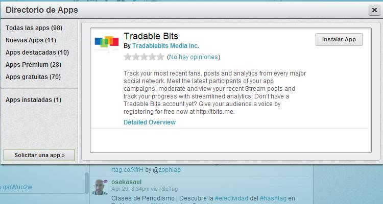 tradable bits hootsuite