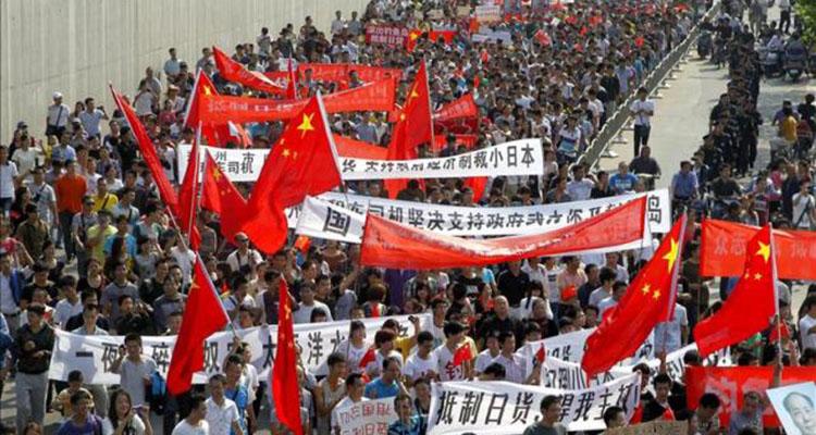 protestas china