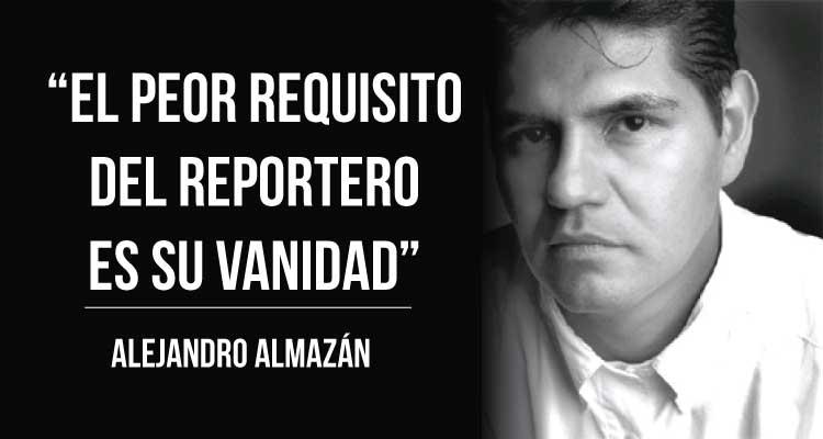 """Alejandro Almazán: """"Cuando se me va el miedo es que me pongo a teclear"""""""