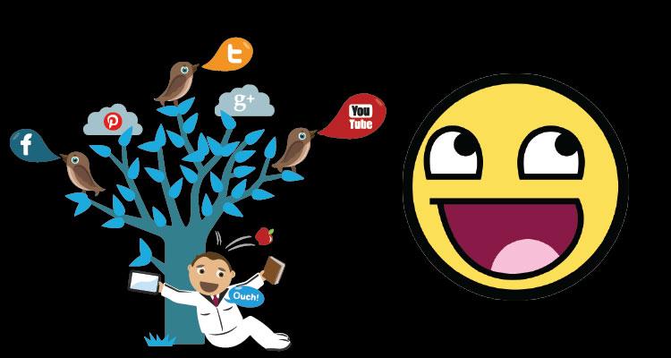 redes-sociales-feliz