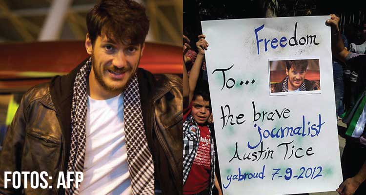 Austin-Tice - Fotos AFP