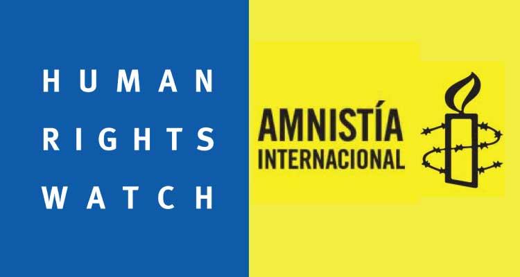 Amnistía Internacional y Human Rights WatchAmnistía Internacional y Human Rights Watch