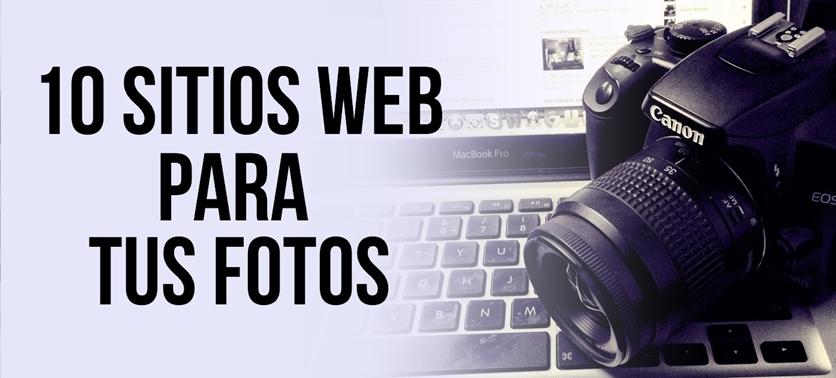 Crea portafolios en línea para tus fotos con estas 10 herramientas